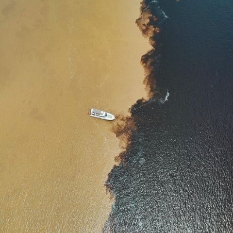 The Meeting of Waters in Manaus